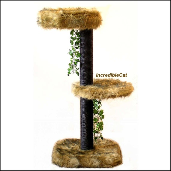 Creative Cat Towers: Cat Tree SALE MODERN CAT Furniture 4' Best By IncredibleCat