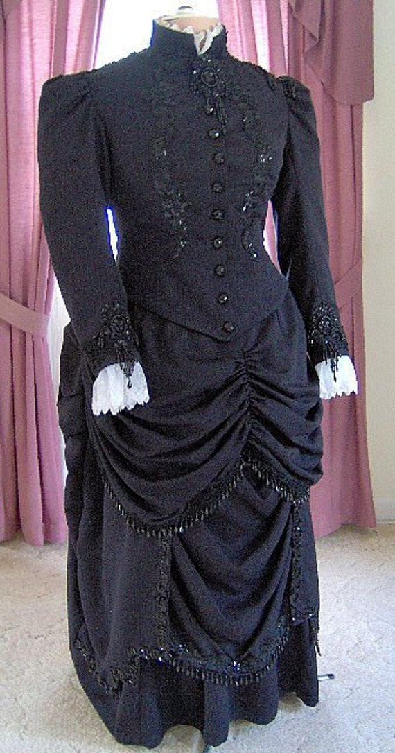 Victorian dresses victorian ballgowns victorian clothing for Old west wedding dresses