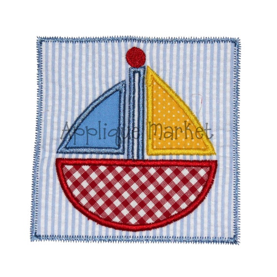 make patches on embroidery machine