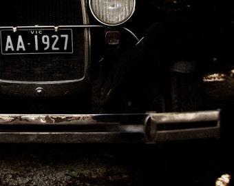 vintage car photograph - 8X10 - 1920s Great Gatsby mantique - men's decor - unmatted print