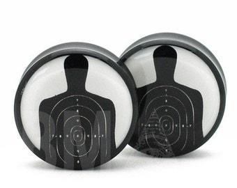 "7/16"" (11mm) Shooting Target BMA Plugs Pair"