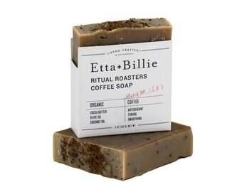 Ritual Roasters Mint Coffee Soap Organic Ingredients Vegan 5 oz