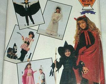 Kids No Sew Halloween Costumes Multi Size Simplicity 0632