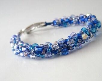 Ocean Breeze Kumihimo Bracelet