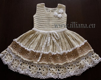 Crochet dress. PDF Pattern . No 86