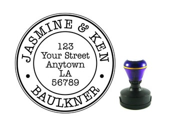 Personalized Self Inking Address Stamp - Return address stamp R138