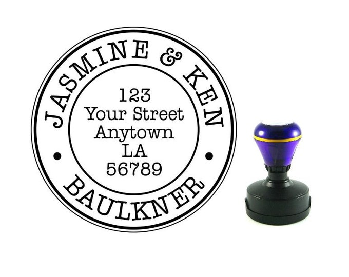 Personalized Self Inking Address Stamp - Return address stamp R138