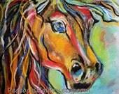 Horse Art Print 16x20