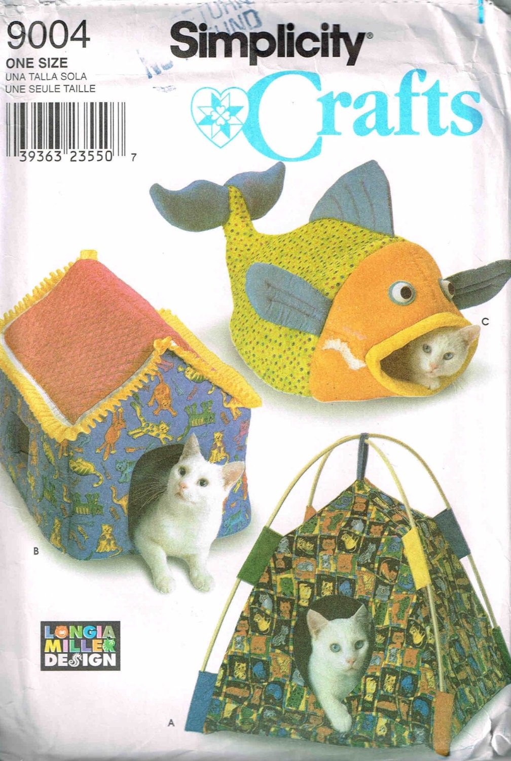 Pet Beds Diy Tent Fish And House For Cats And Dogs Sewing