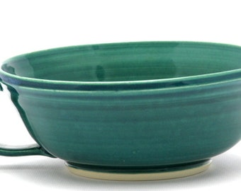 Green Batter Bowl in Copper Mountain Glaze Combination