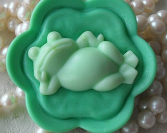 Handcrafted Soap Prince Charming Soap Frog Soap