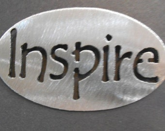 INSPIRE MAGNET- Cute and Fun , gift  inspriational holds 5lbs  Fridge Locker Steel door Decorative useful small gift item