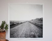 Wyoming Dirt Road Poster Print - large wall art