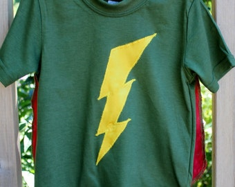Custom  - Superhero Cape T Shirt
