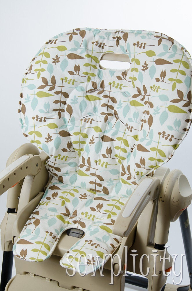 Fisher Price EASY FOLD Healthy Care High Chair Cover Ivory