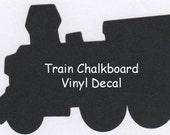 Train Chalkboard Vinyl Decal - 20 x 11.5