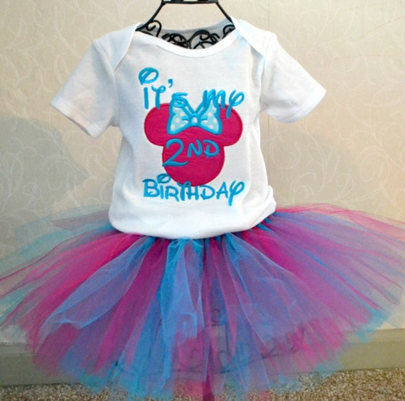 Minnie Mouse number and zebra Tutu Set----Infant on p--- Great for Birthdays, or Photography