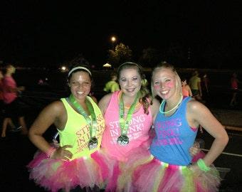Marathon Tutu Skirt,Choose your color(s), mini tutu, birthday tutu,adult tutu, running tutu,group tutu,themed tutu,Disney tutu,toddler tutu