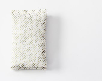 Gold Dot Lavender Sachets 2nd Anniversary Gift Art Deco Bedroom Decor