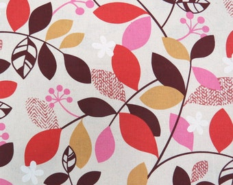2372A -- Blooming Vine, Bloom and Grow Vine, Pink Combo in Linen White