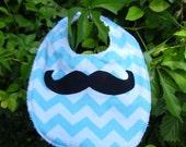 Mustache Bib - Ready to Ship