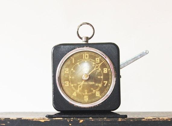 X Ray Department - Vintage GE Timer - Vintage Interval Timer - Halloween - Numbers - Industrial - Black - Home Decor