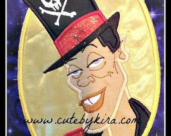 Voodoo Man Applique Embroidery Design