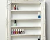 Nail Polish Organizer, Shelving Display, Nail Design, Nail Art, Storage, Wall Rack, Nail Holder, Opi, Essie