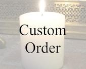 Custom order for Nina Burke