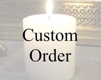 Custom order for Carrie McCarthy