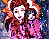 Mother Mary: Art Prints Available in various sizes.
