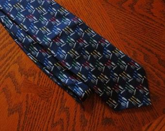 Vintage Necktie-Metropolitan Museum of Art Gardener