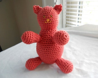 Crochet Pattern PDF - Little Round Cat
