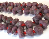 Ruby yes genuine semiprecious gemstone ruby rough nuggets 10 piece lot
