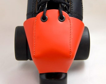 Plain Orange Leather Toe Guards OR Choose Your Own Color!