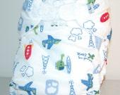 LuluBellDesigns Pocket Cloth Diaper Large 25-38 lbs PRINTS
