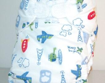 LuluBellDesigns Pocket Cloth Diaper Medium 18-28 lbs PRINTS