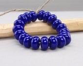 25 % off - 20 Spacer - Handmade Lampwork Beads - S 54