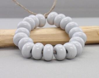 25 % reduced - 20 Spacer - Week - Handmade Lampwork Beads - S 60