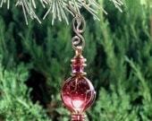Purple Ornament Small Mother's Day Gift Recycled Glass Suncatcher