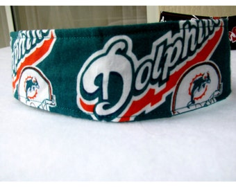NFL Headbands, Buccaneers, Dolphins, Bears, Cowboys,  Cotton Headband
