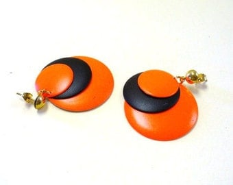 Vintage Neon Earrings DEADSTOCK