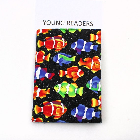 Fish young reader paperback book cover bright and cute fish for Book with fish on cover