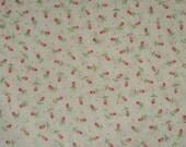 Tiny Rosebud Print Vintage Fabric 1 1/2 yards