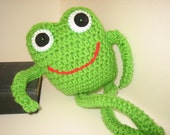 Once upon a time - Crochet knit Gift for frog LoVers /  Birthday gift  / Valentine's Day