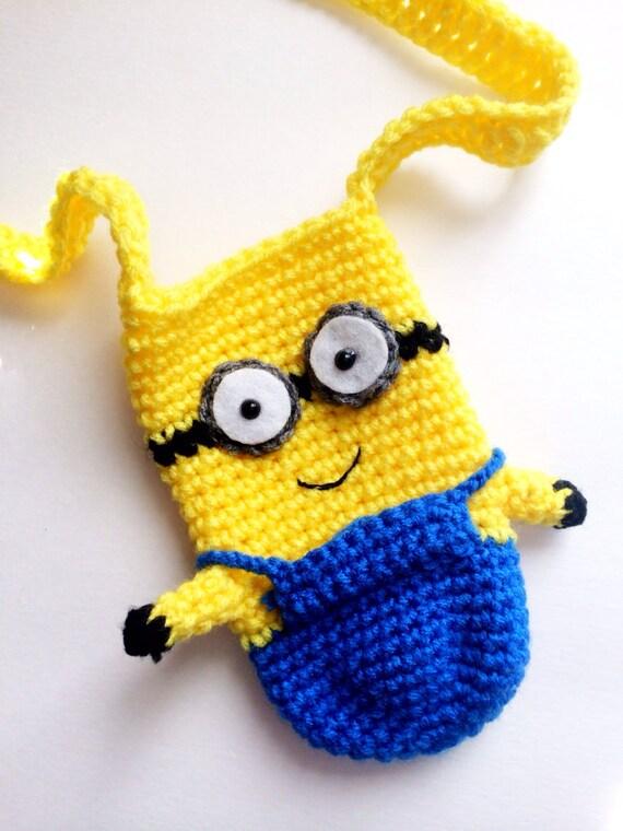 Crochet Minion Water Bottle Holder Free Pattern Legitefo For