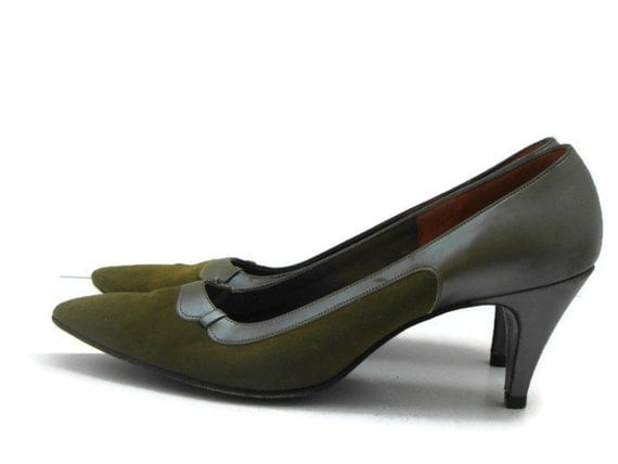 Olive Green Ankle Shoes Women Uk