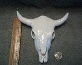 Ceramic Cow Skulls / Skull