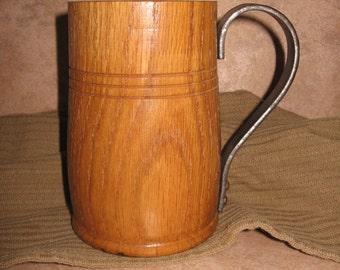 Wooden Halfling Mug Oak