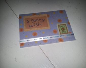 Card that you can write thinking of you